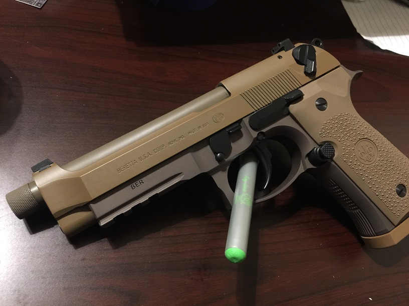 New Beretta M9A3's being made in Italy, and not America as